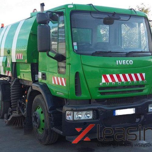 Zamiatarka drogowa IVECO Eurocargo 150, 76 000 PLN, Zgierz leasing